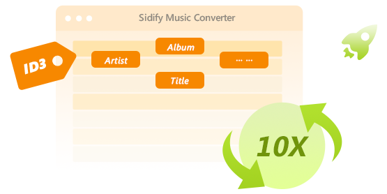 Sidify Music Converter for Spotify (Mac) - Remove DRM from Spotify