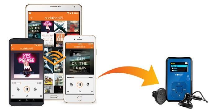 Easiest Way to Transfer Audible Audiobooks to SanDisk Sansa | Sidify