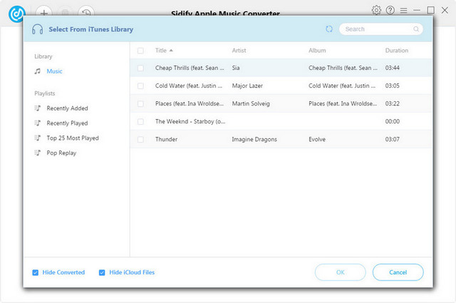 Sidify iTunes Auido Converter