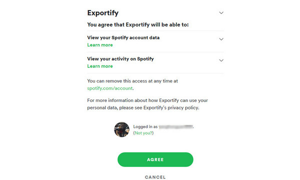 Export Spotify playlist to Excel CSV