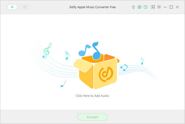 main interface of sidify apple music converter free
