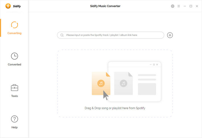 Main interface of Sidify Music Converter