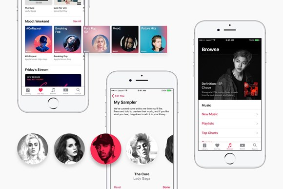 Discover new music on Apple Music