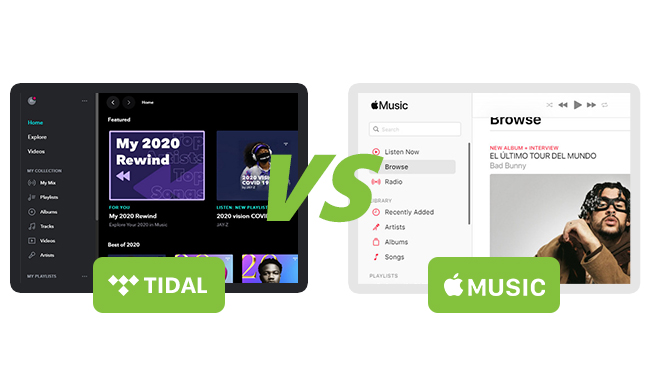 Tidal and Apple Music Comparison: Which Is the Best in Your